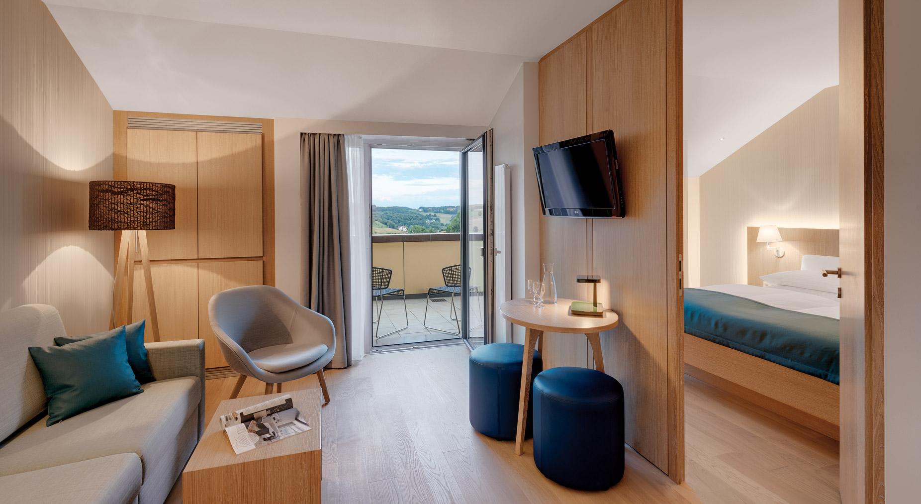 Thermenhotel stoiser zimmer loipersdorf for Zimmer suite